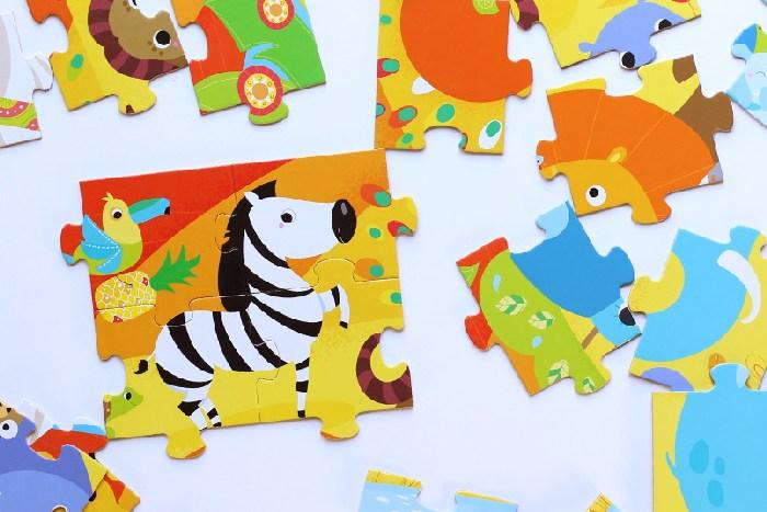 Czu Czu puzle dla dzieci safari 40 elementów 3+