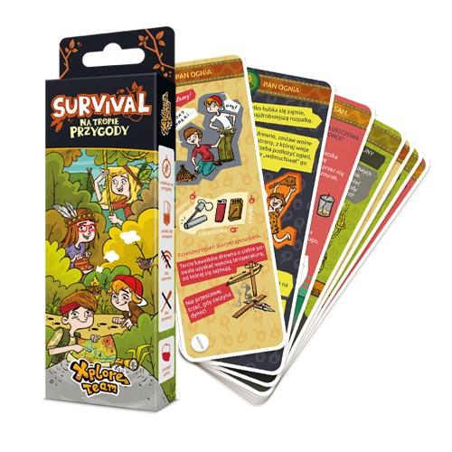 Xplore Team Survival ksiażeczka porady