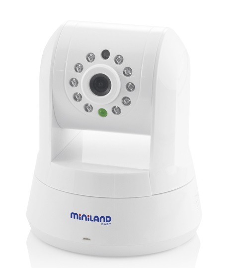 Kamera obrotowa z aplikacją czujnika ruchu Miniland