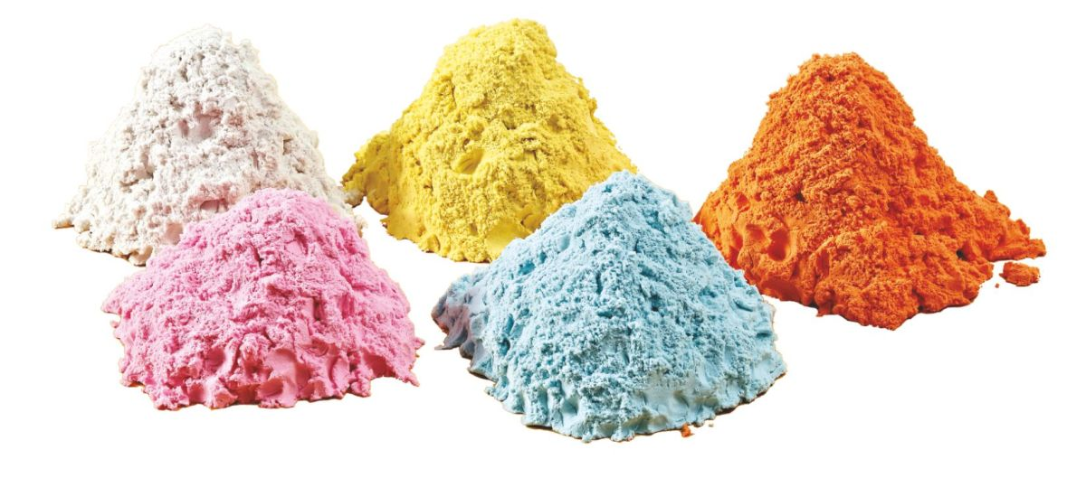 *Donerland magiczny piasek 5 kg (9l) - żółty