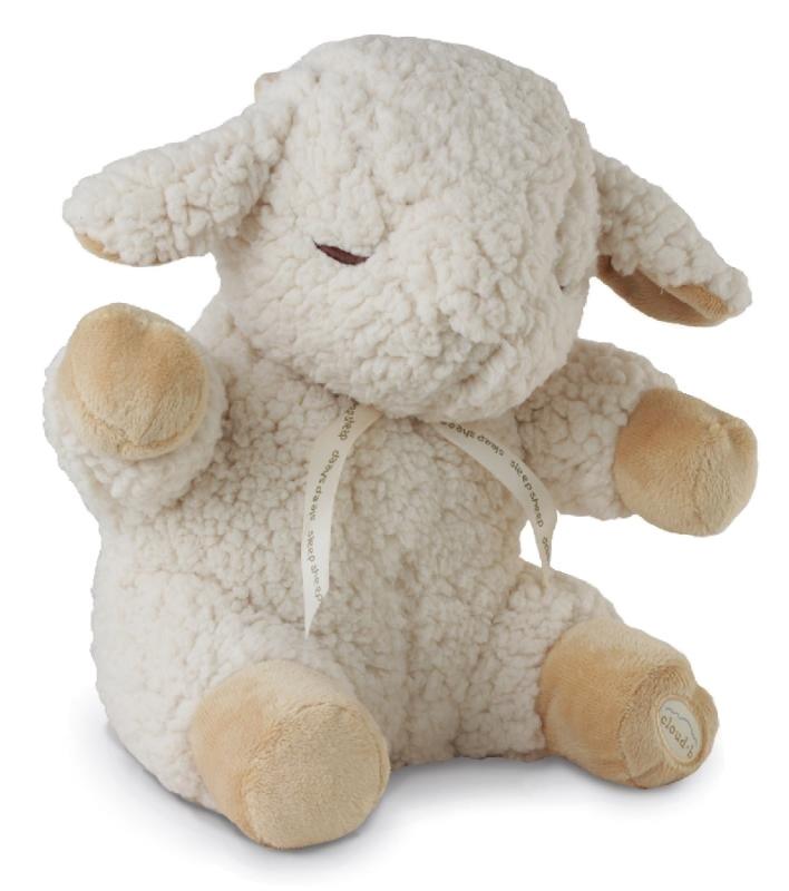 Cloud b pozytywka dla niemowląt śpiąca owieczka