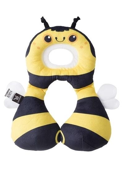 Zagłowek poduszka podróżna dla dzieci od 1-4 lat Pszczoła Ben Bat