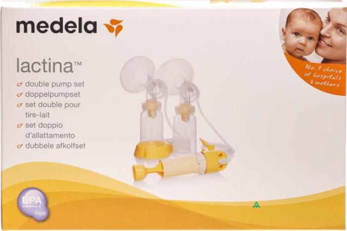 Zestaw do podlączenia do modułu elektrycznego Lactina Moze być używany jako laktator ręczny Medela