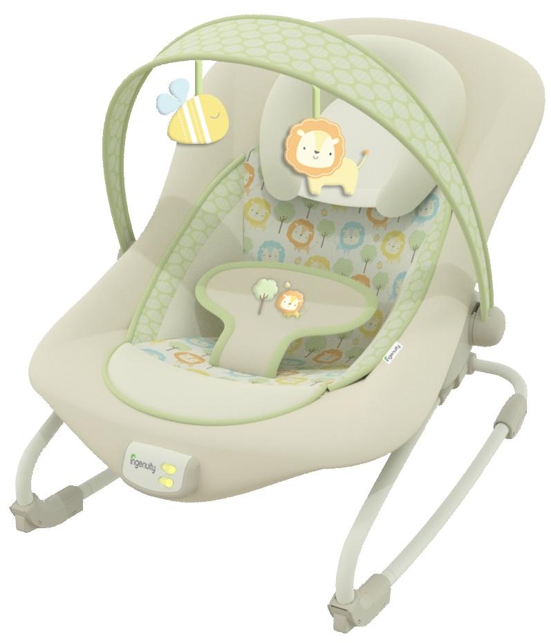 Leżeczek niemowlący - siedzisko Ingeniuty  BS10249  Bright Stars