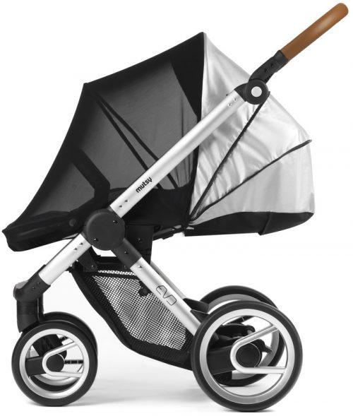 Osłona UV do wózka Mutsy Evo - osłona przeciwsłoneczna i przed insektami
