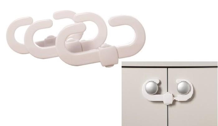* Dreambaby Zamknięcie zabezpieczające szafek - 3 szt.