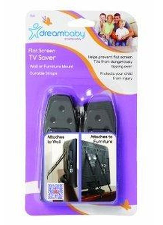 Dreambaby Taśmy stabilizujące do telewizorów z płaskim ekranem
