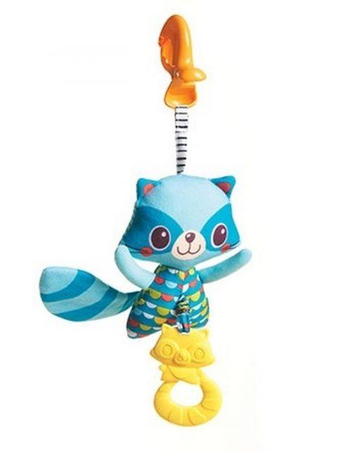 Wibrujący szop z gryzakiem - zabawka dla niemowlaków Tiny Love