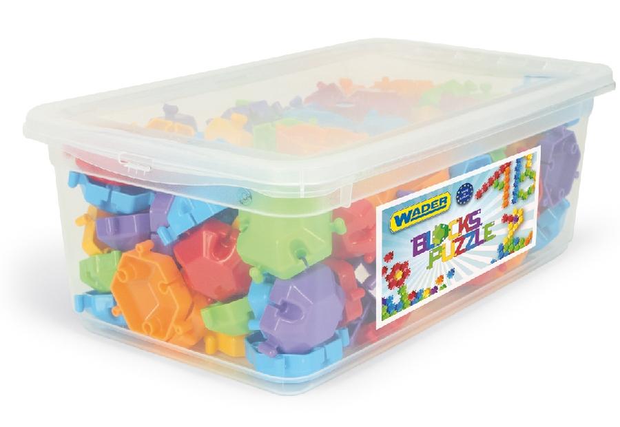 Wader klocki puzzle 120 elementy w boxie