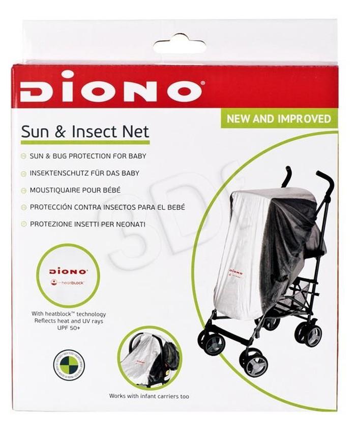 Diono osłonka przeciwsłoneczna, moskitiera do wózków i fotelików 0-13