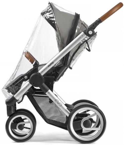 Folia przeciwdeszczowa do wózków spacerowych Mutsy Evo