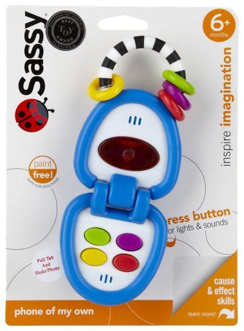 Zabawka grająca mój własny telefon Sassy