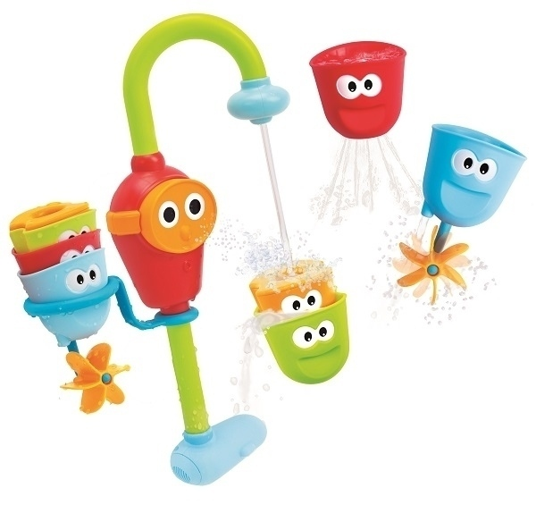 Yookidoo Wesoły Kranik zabawki do wanny na baterie HIT dla dzieci