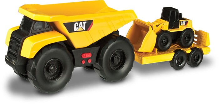 mini trailer teams – wywrotka z ładowarką CAT