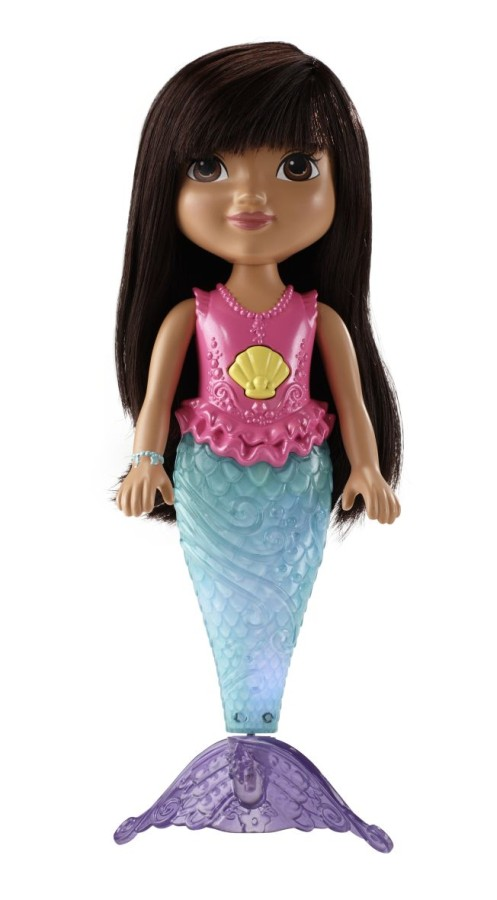 Fisher Price Lalka magiczna pływaczka - Syrenka Dora