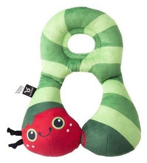 Zagłowek poduszka podróżna dla dzieci od 1-4 lat Gąsienica Ben Bat