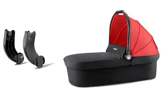Gondola do wózka Recaro CityLife + adaptery do gondoli i fotelika