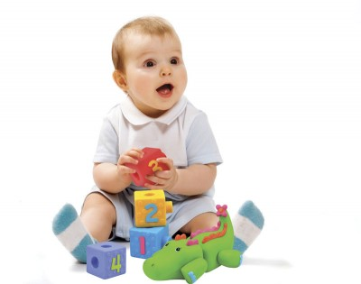 Krokokostki do składania. Zabawka dla dzieci rozwijająca zmysły oraz koordynacje ruchowo-wzrokową. Produkt firmy K`S Kids.