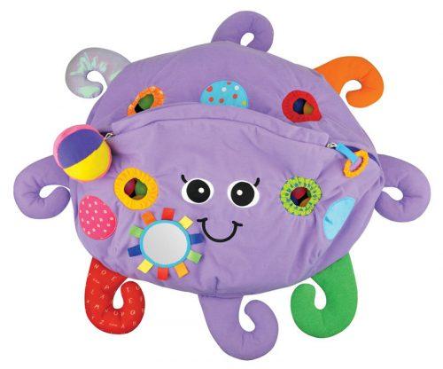 Ośmiornica basen z piłeczkami fioletowa. Doskonała zabawka dla dzieci o 6 miesiąca życia. Produkt K`S Kids.