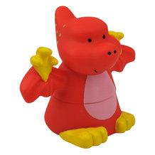 Klocki Popboblocs Dinozaur czerwonyi. Rozwijające zmysły dziecka. Produkt K`S Kids.
