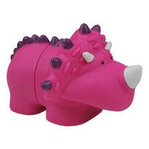 Klocki Popboblocs Dinozaur różowy. Rozwijające zmysły dziecka. Produkt K`S Kids.