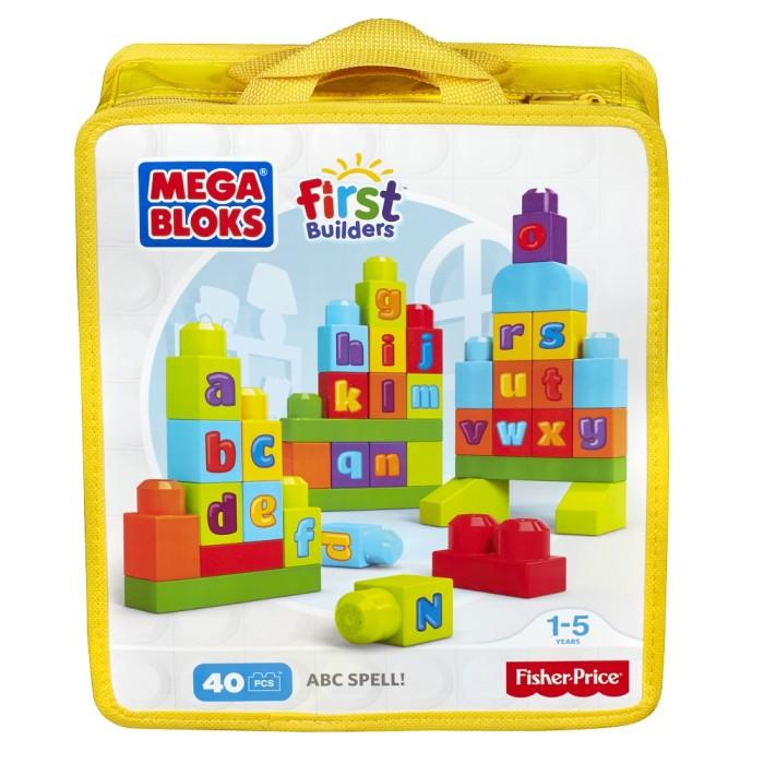 Mega Bloks Klocki First Builders Ćwiczymy ABC! DKX58