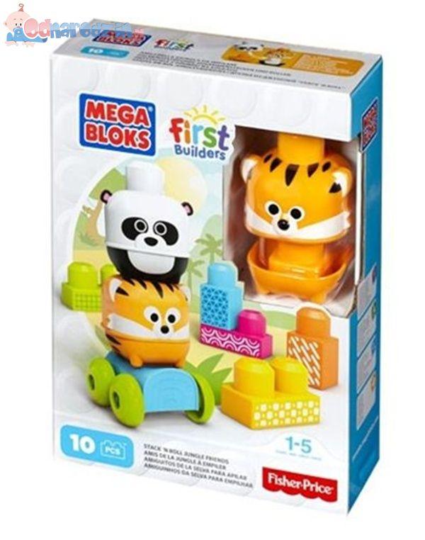 Mega BloksKlocki - Przyjaciele z dżungli - Sowa lub Tygrys DLC11