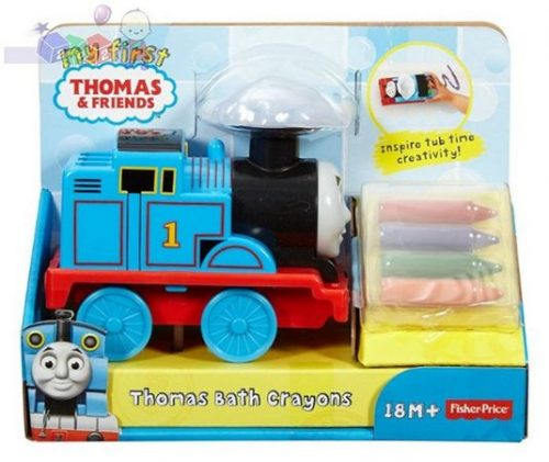 Fisher Price Thomas - Lokomotywka z kredkami do kąpieli