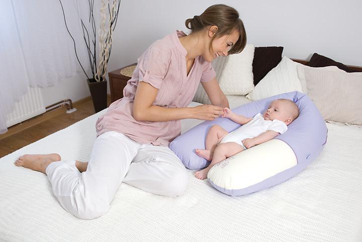 Poduszka z weluru Baby Matex 170 cm  poduszka do karmienia