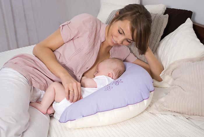 Poduszka do karmienia niemowląt bawełniana 170 cm Baby Matex