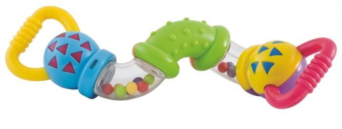 Rozwój dziecka - grzechotka sprytny wąż Canpol Babies - żywe kolory i ciekawy kształt