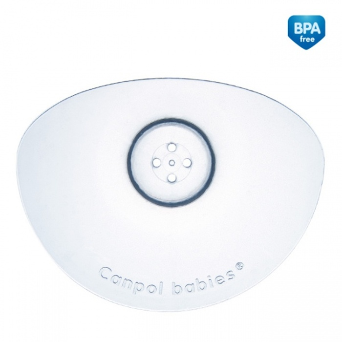 Silikonowe osłonki piersi Canpol Babies Premium_Mały