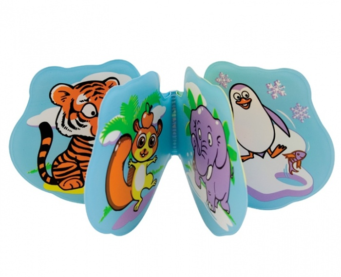 Książeczka miękka zwierzątka Hippo lub Zoo Canpol Babies