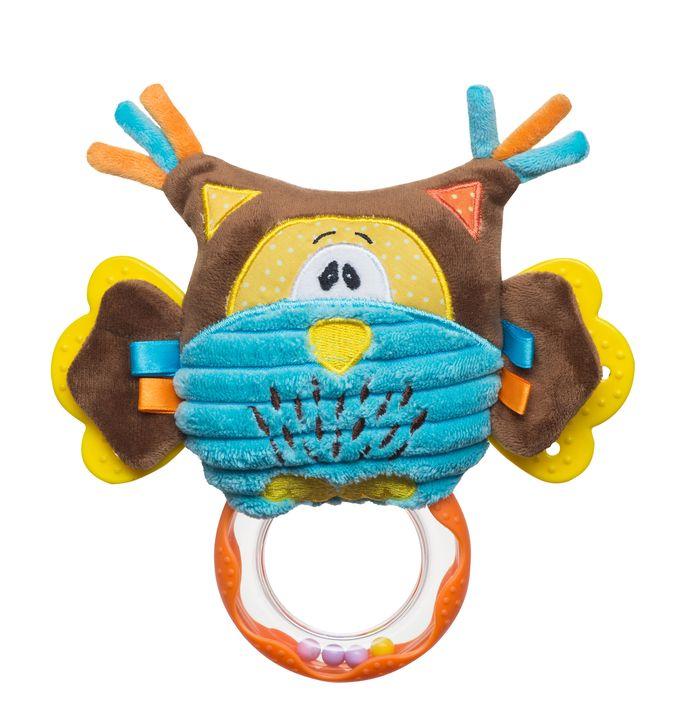 Zabawka do wózka fotelika i łóżeczka BabyOno - sowa 19 cm