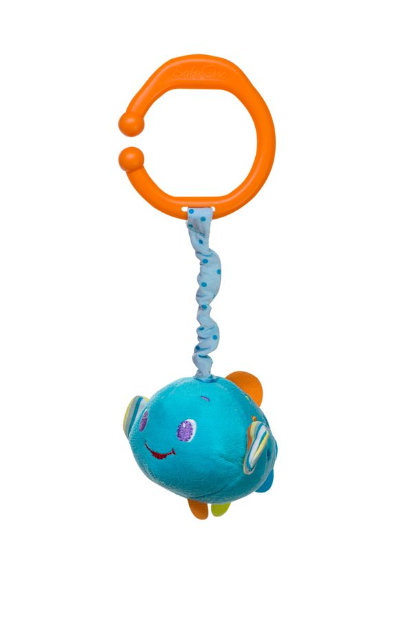 Zabawka BabyOno z wibracją do wózka fotelika i łóżeczka - rybka