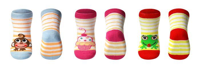 Skarpetki z bawełny BabyOno dla dzieci od 6 miesięcy 588-01