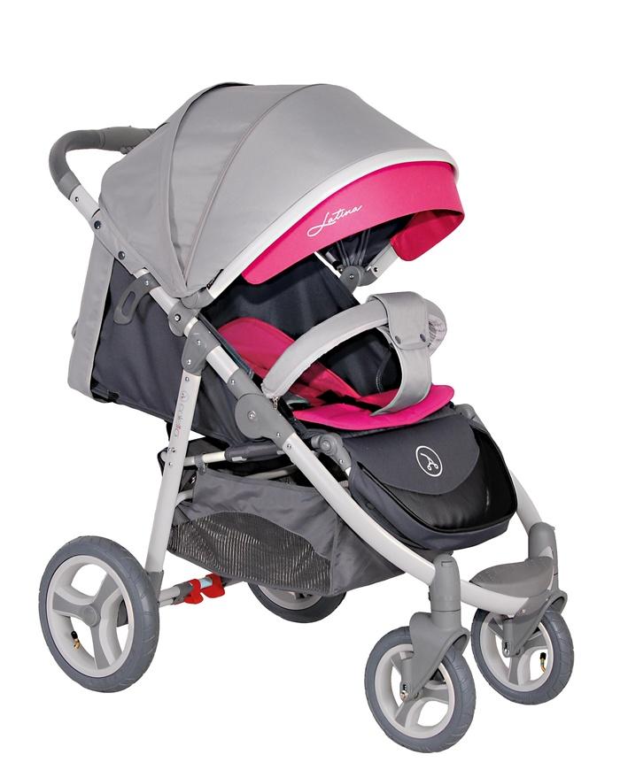 Amortyzowany dziecięcy wózek spacerowy Coletto Latina