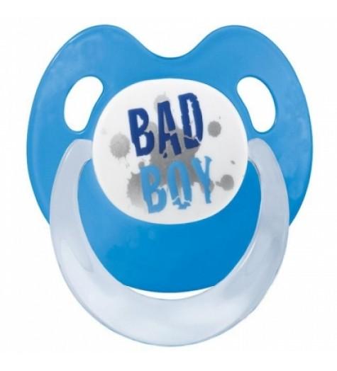 Bibi Smoczek uspokajający ortodontyczny Basic Care Bad Boy 0-6