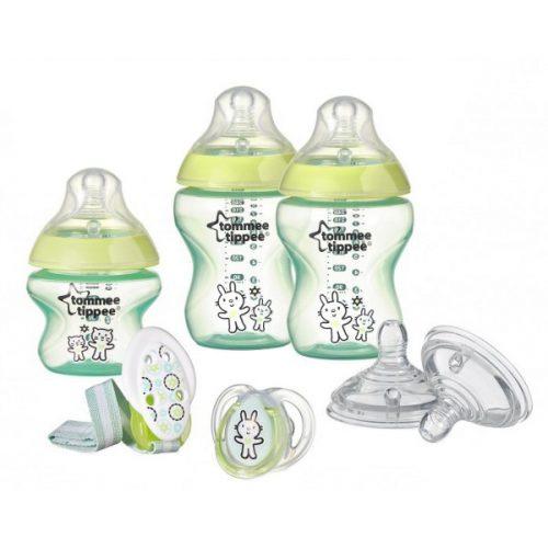 Tommee Tippee Zestaw początkowy butelki i smoczki dla noworodka