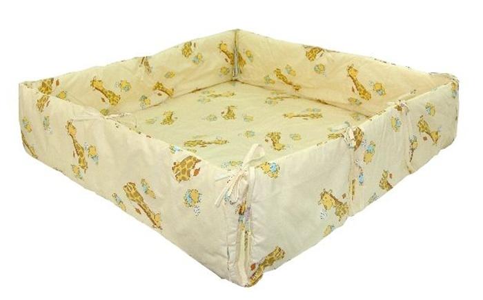 Wkład bawełniany do kojca dziecięcego 100x96 cm Klupś