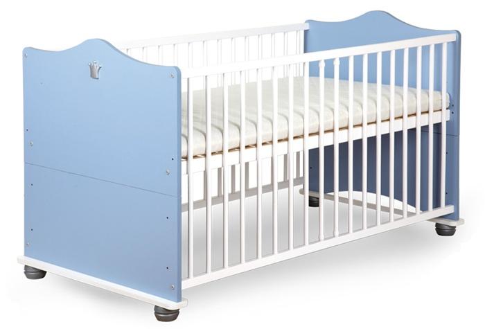 Łóżeczko dziecięce 140x70 rozkładane na tapczanik Klupś Książę