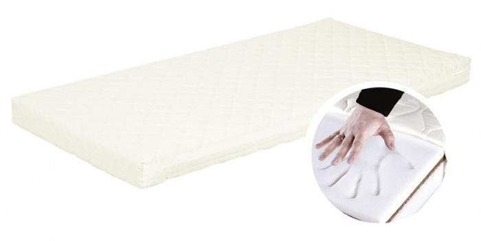 Materace Klupś Komfort do łóżeczka Kompakt 120x80x9 + 80x52