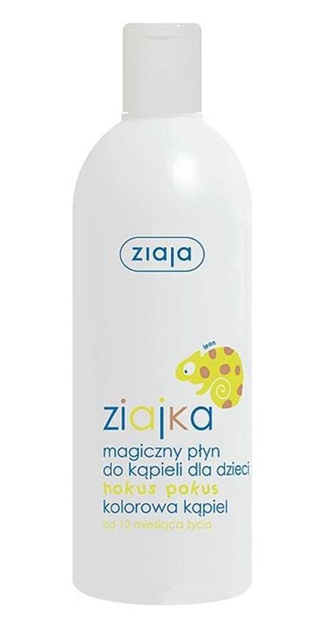 Magiczny płyn do kąpieli dla dzieci 400 ml, Ziajka