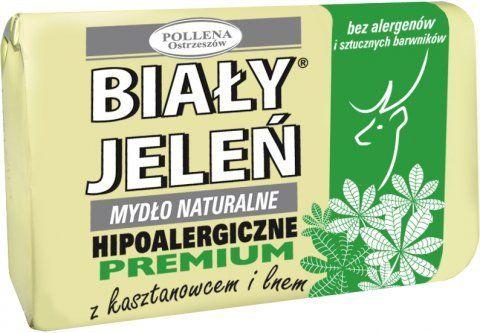 Hipoalergiczne naturalne mydło Biały Jeleń Premium 100G
