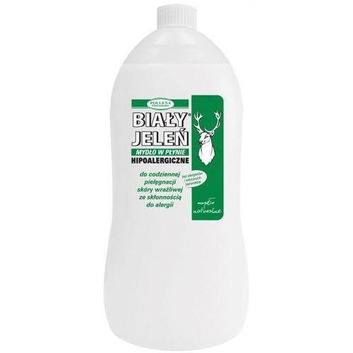 Hipoalergiczne mydło naturalne w płynie Biały Jeleń 1L zapas