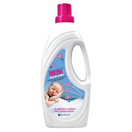 Płyn do prania pieluszek i bielizny niemowlęcej 1000 ml Bebi Barwa