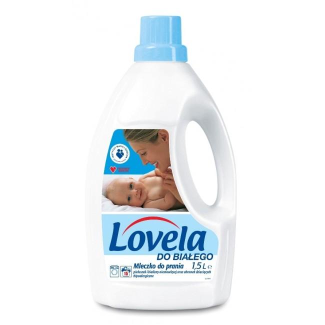 Lovela mleczko do prania 1,5 l - do białego
