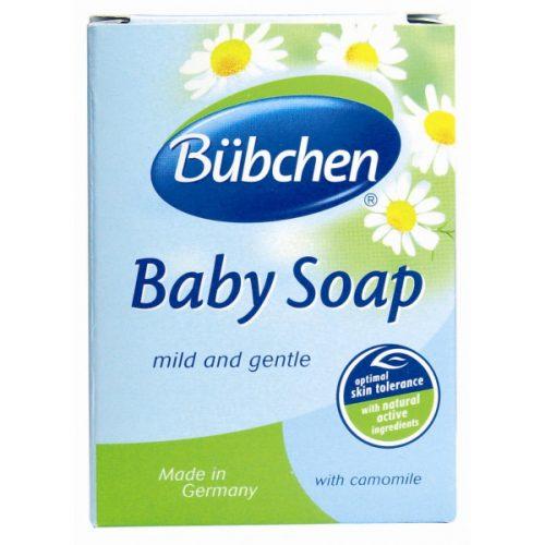 Łagodne mydło w kostce Bubchen z rumiankiem do mycia całego ciała dziecka