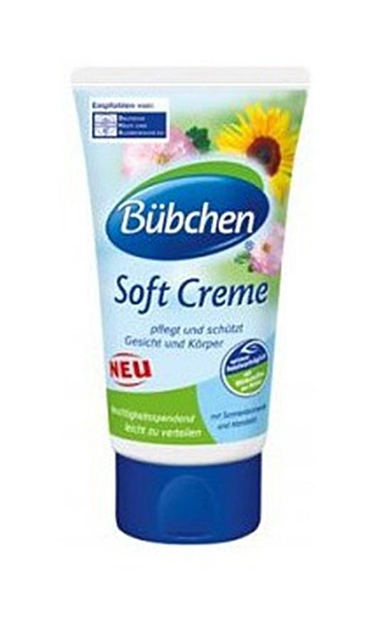 Delikatny krem nawilżający 75 ml Bubchen - dla dzieci i niemowląt