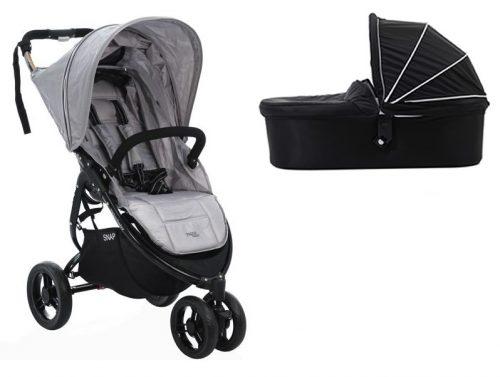 Głęboko spacerowy wózek 2w1 bardzo lekki Snap 3 + gondola Valco Baby